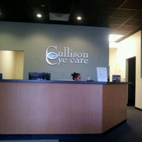Photo taken at Cullison Eye Care by Brad T. on 1/6/2012