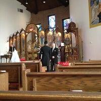 Photo taken at Holy Trinity Greek Orthodox Church by Richard L. on 6/10/2012