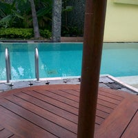 Photo taken at Ibis's Privat Pool by Alky A. on 7/14/2012