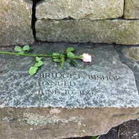 Photo taken at Salem Witch Trials Memorial by Raphael O. on 10/9/2011