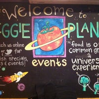 Photo taken at Veggie Planet by Elissa S. on 12/13/2011