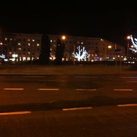 Photo taken at Plac Wilsona by Ella K. on 12/19/2011