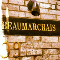Photo taken at Beaumarchais by TEN15NYC on 4/8/2012