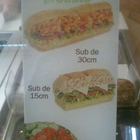 Photo taken at Subway by Jan S. on 2/1/2012