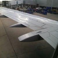 Photo taken at Awaiting Takeoff by Francisco R. on 10/10/2011