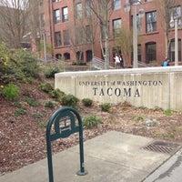 Photo taken at University of Washington Tacoma by Zwei L. on 4/10/2012