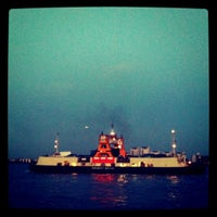 Photo taken at Woolwich Ferry by Tom M. on 10/15/2011