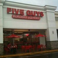 Photo taken at Five Guys by Eric A. on 5/7/2011