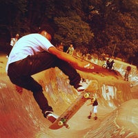 Photo taken at Skate Park by Max O. on 11/13/2011