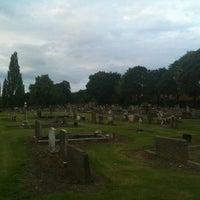 Photo taken at Oxbridge Cemetery by Junhyun K. on 7/24/2012
