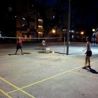 Photo taken at Badminton Court at Blk 1 Hougang Ave 3 by Audrey H. on 7/3/2012