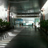 Photo taken at Hall / Auditorium BINUS University by Didik W. on 1/22/2012