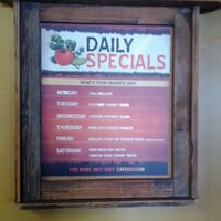 Photo taken at Cafe Rio Mexican Grill by Nick P. on 1/8/2012