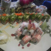 Photo taken at Fin's Sushi & Grill by Bessie K. on 8/30/2012