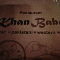 Photo taken at Khan Baba Restaurant by Wan N. on 7/27/2012