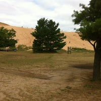 Photo taken at Dune Climb - Sleeping Bear Dunes by Tim on 7/31/2012