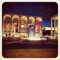 Photo taken at Josie Robertson Plaza (Lincoln Center Plaza) by Chris M. on 9/6/2012
