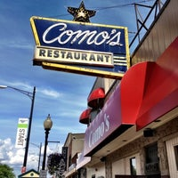 Photo taken at Como's by Laura W. on 8/19/2012