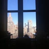 Photo taken at NYU Bobst Library by Chloe R. on 3/27/2011
