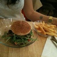 Photo taken at Basilic Café by Nadia D. on 3/29/2012