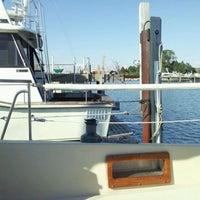 Photo taken at Chicago Sailing @ Waukegan Harbor by Tony A. on 9/17/2011