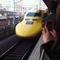 Photo taken at 名古屋駅 新幹線ホーム by Tetsuo T. on 3/19/2012