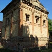 Photo taken at Sepolcro Di Annia Regilla by Manlio L. on 10/1/2011