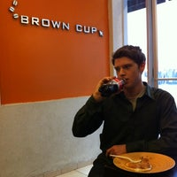 Photo taken at Brown Cup Cafe by Skylar B. on 2/29/2012