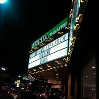 Foto tirada no(a) The Fonda Theatre por Matt B. em 6/23/2012