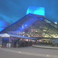 Photo taken at Rock & Roll Hall of Fame by Steve F. on 4/14/2012