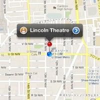 3/26/2012 tarihinde Ryo N.ziyaretçi tarafından The Lincoln Theatre'de çekilen fotoğraf