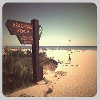 Photo taken at Bradford Beach by Bathilda H. on 9/4/2011