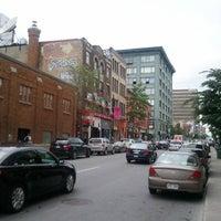 Photo taken at Boulevard Saint-Laurent by Yoni M. on 6/29/2011