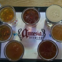 Photo taken at Amnesia Brewing by Michelle M. on 9/2/2011