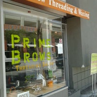 Photo taken at Prime Brows Eyebrow Threading & Waxing Salon Spa by Marquita T. on 6/21/2012