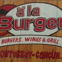 "Photo taken at ""a"" la Burger by Jack C. on 10/5/2011"