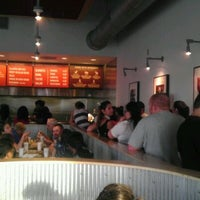 Photo taken at Chipotle Mexican Grill by A K. on 5/3/2012