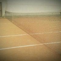Photo taken at CUS Torino - Campi da Tennis by Lorenzo G. on 2/27/2012