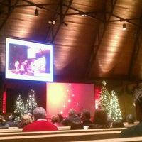 Photo taken at Christ Church of Oak Brook by Sherri L. on 12/24/2011