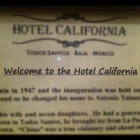 Photo taken at Hotel California by Malkom on 7/29/2012