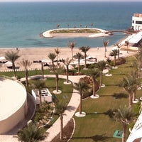 Photo taken at Sofitel Bahrain Zallaq Thalassa Sea & Spa by Fallloo R. on 1/1/2012