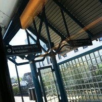 Photo taken at NJT - West Side Avenue Light Rail Station by Bill B. on 4/14/2012