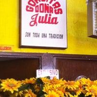 Photo taken at Gorditas Doña Julia by Ivan C. on 3/2/2012