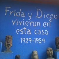 Photo taken at Museo Frida Kahlo by Jorge V. on 5/6/2012