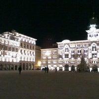 Photo taken at Piazza Unità d'Italia by Luca Skiki G. on 1/9/2012