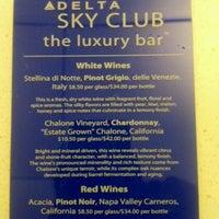 Photo taken at Delta Sky Club by Girish J. on 11/17/2011