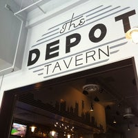 Photo taken at The Depot Tavern by Emily C. on 7/23/2011