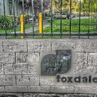 Photo taken at Foxdale Village by Justine T. on 6/1/2012