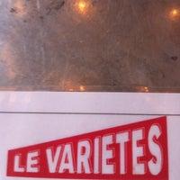 Photo taken at Le Variétés by Nicolas D. on 1/26/2011