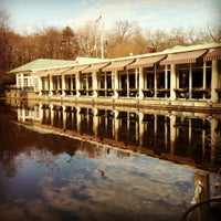Photo taken at The Loeb Boathouse by Viviane M. on 1/29/2012
